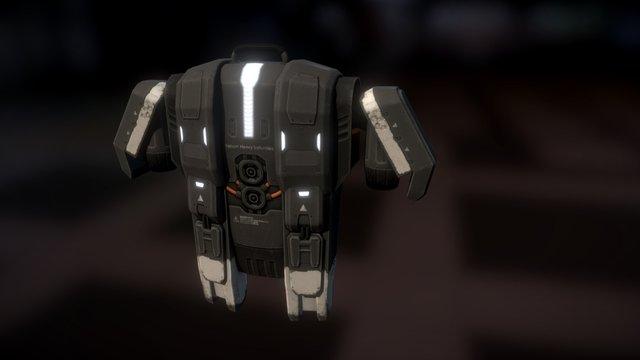 Jetpack 3D Model
