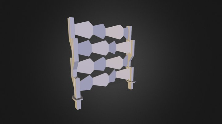 Nuevo horizontal 3D Model