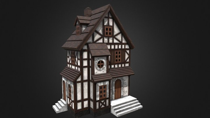 Great House 3D Model
