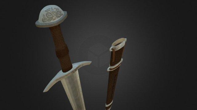 Viking Sword 3D Model