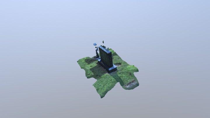 3D Grave Model 3D Model