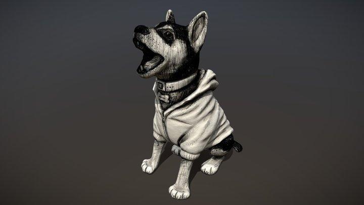 3D Inktober 2019 - 6 - Husky 3D Model