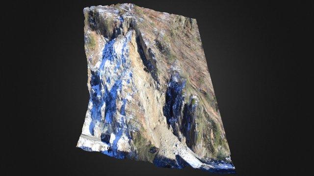 Gorges de l'Arly - Eboulement des Cliets 3D Model