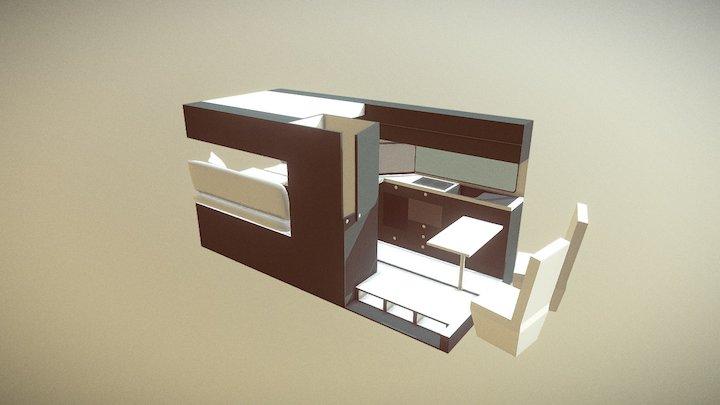 Van Conversion Model 1 3D Model