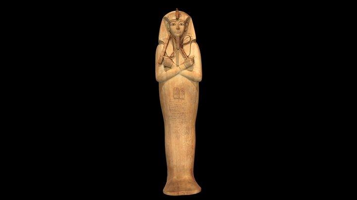 Coffin of Ramses II 3D Model