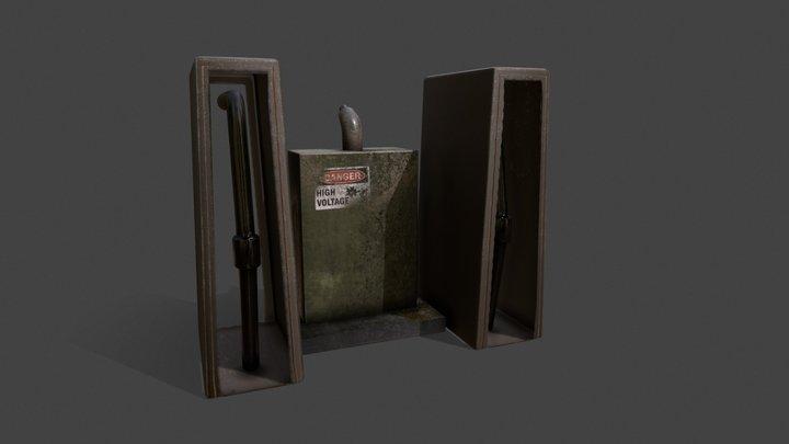 Gas box 3D Model