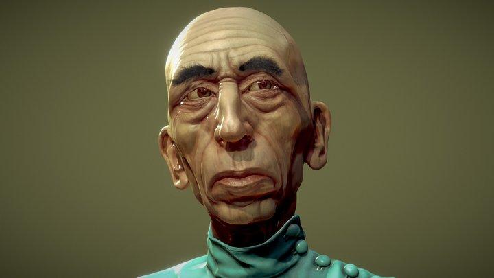 Daniel Emilfork as 'Krank' 3D Model