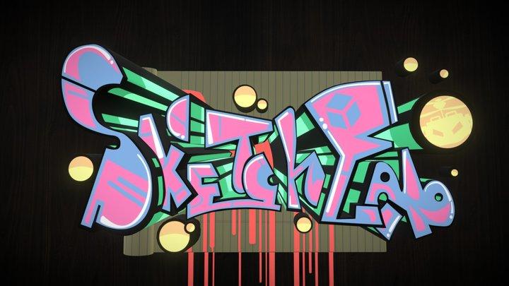 3D Graffiti 3D Model
