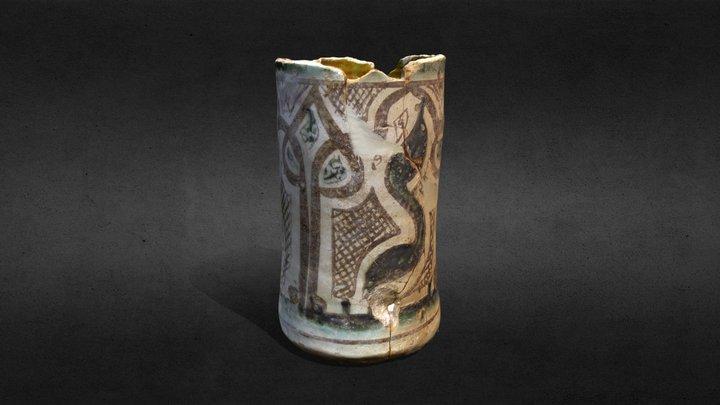 El vas ceràmic de Pedret (Cercs) 3D Model