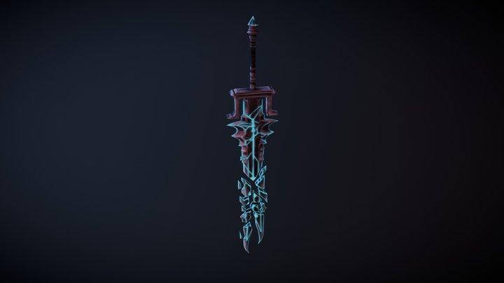 Soulsplitter Greatsword 3D Model