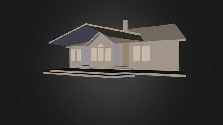Roof Deck Option 3 3D Model