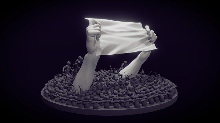 Riots 3D Model