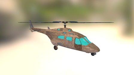 Helicóptero 3D Model