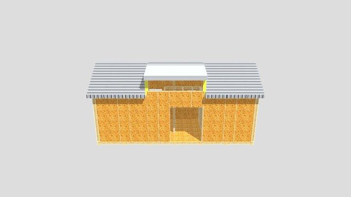 PN - domek 1 - model 3D - 2021.06.08 3D Model
