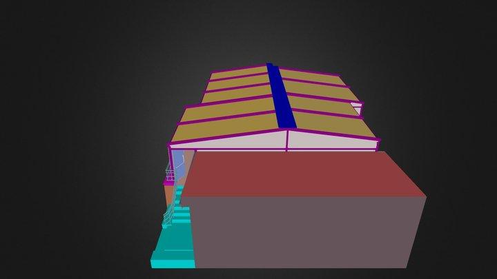 ASKİ Sosyal Tesisleri 3D Model