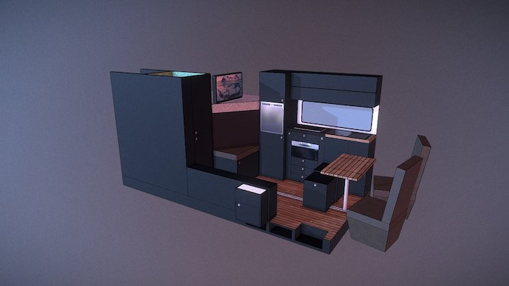 Van Conversion Model 2 3D Model