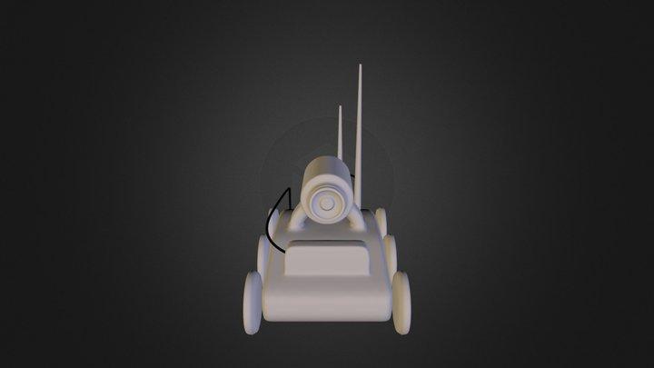 Mech scout 3D Model