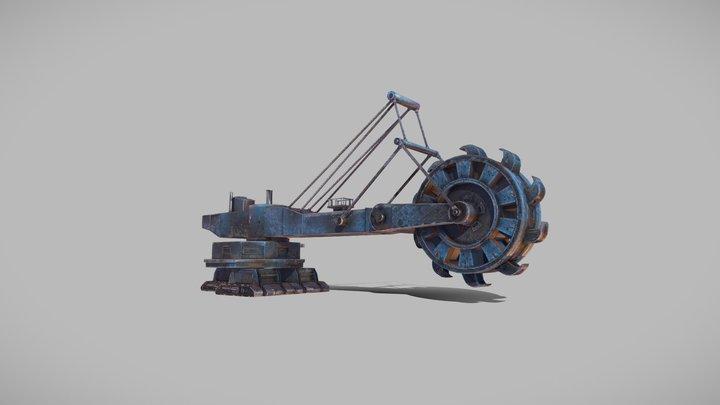 Treasure planet 3D Model