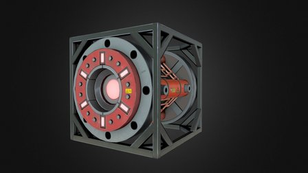 Thermo Generator ( PBR-texturing) 3D Model