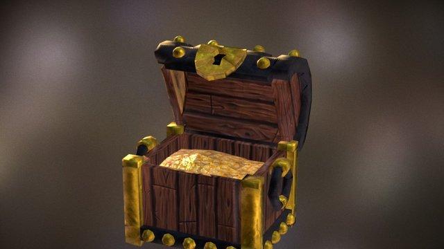 Baú 3D Model