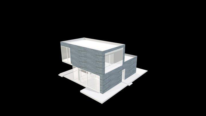 Pietra Ollare_Taglio Disco_4-6-8 cm a correre 3D Model