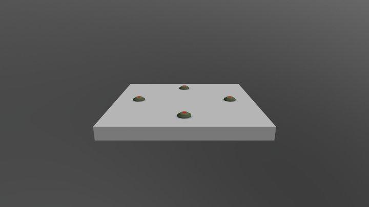 4 Mine 3D Model