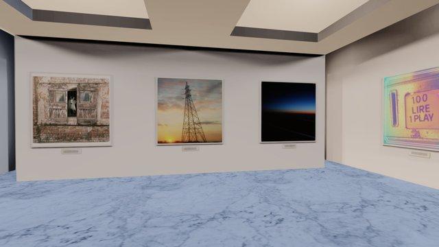 Instamuseum for @alpolli 3D Model