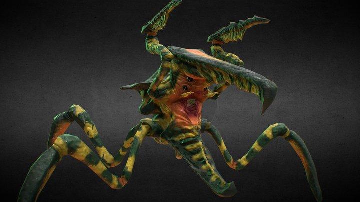 Starship Troopers - Main Bug Animation 3D Model