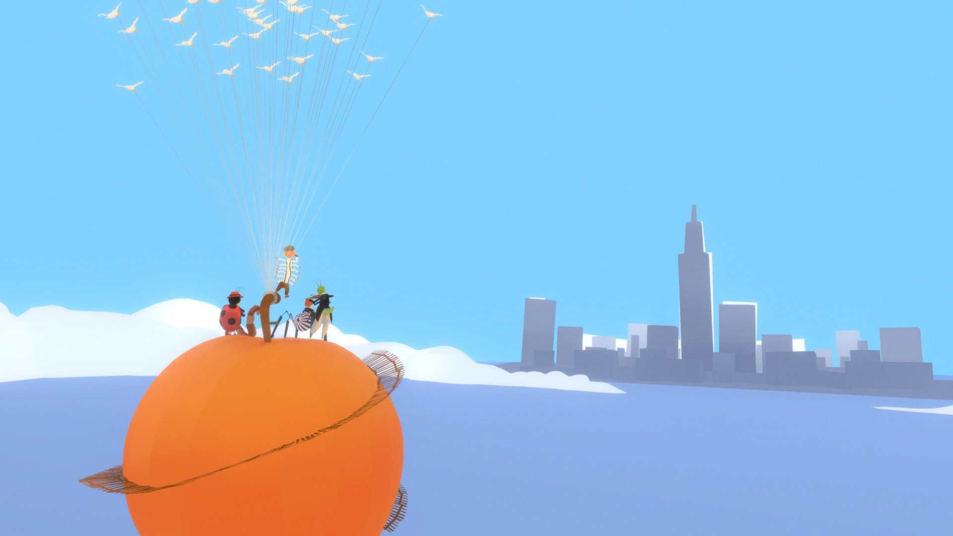 James And The Giant Peach 3d Model By Kurtchangart