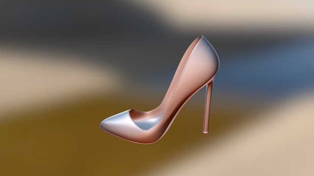 High Heel Shoe - But Szpilka - Stöckelschuh 3D Model