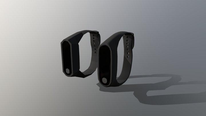 PV Xiaomi Mi Band 2 3D Model