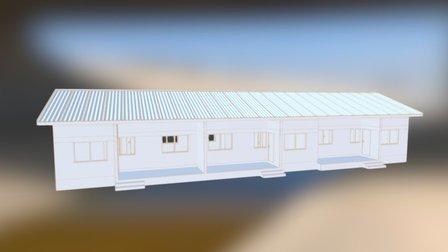 Ghana Woningen 3D Model