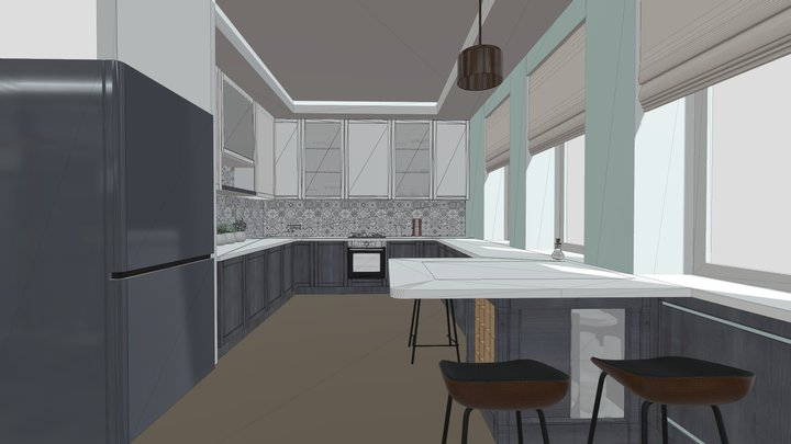 kitchen preview 3D Model