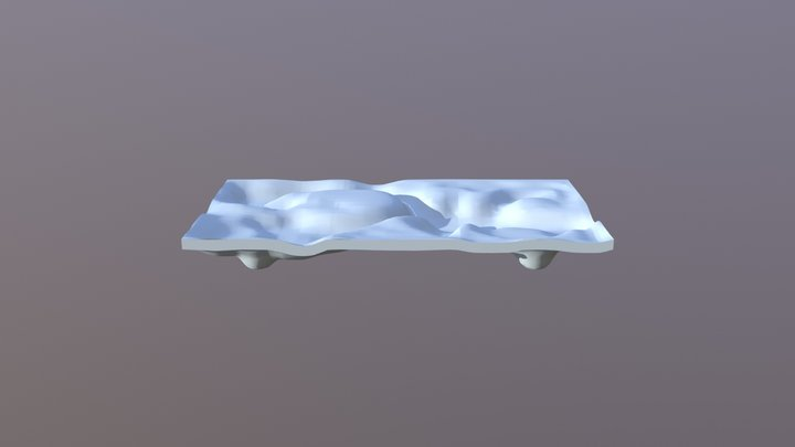 2018-08-11 чабань с ножками 3D Model