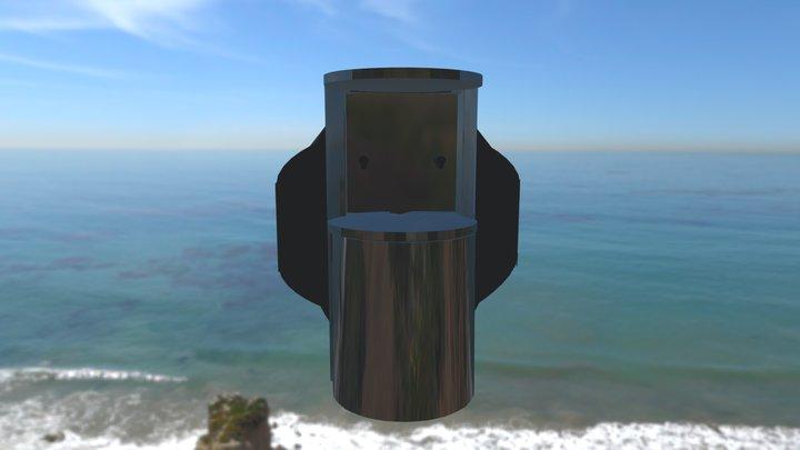 OGM MH3 SteamingDeckBracket Draft 3D Model