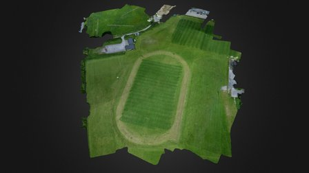 Test Park UAV Flight 3D Model