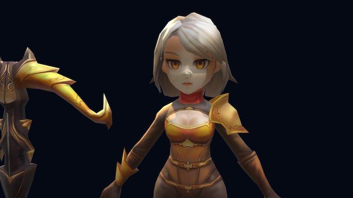 Ava 3D Model