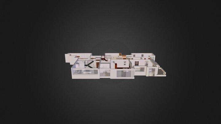 Casa Brescia - Primer Piso 3D Model
