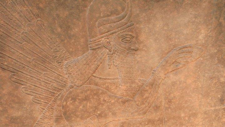 Assyrian Relief 3D Model