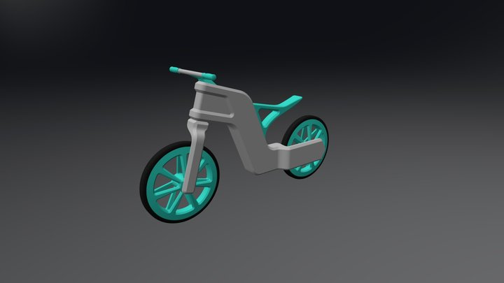 Freebike Thomas Swinnen Obj 3D Model