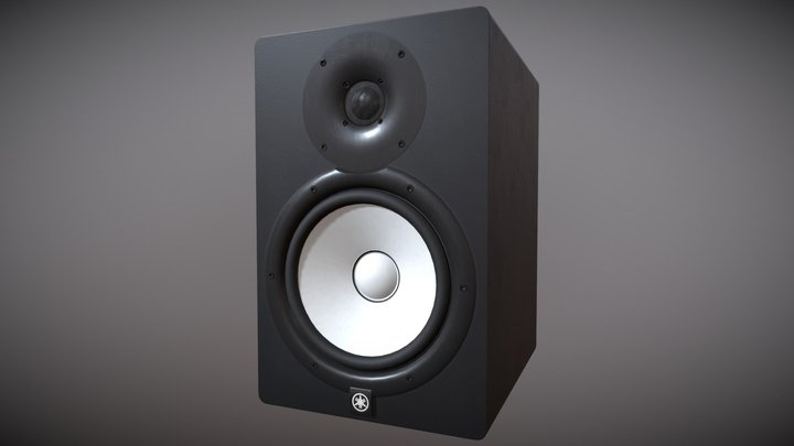 Yamaha HS8 Studio Monitor 3D Model