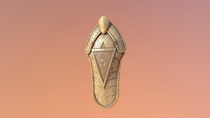 Indoril Shield B #2 3D Model