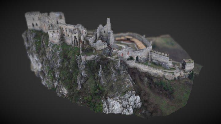 Beckov Castle - Slovakia 3D Model