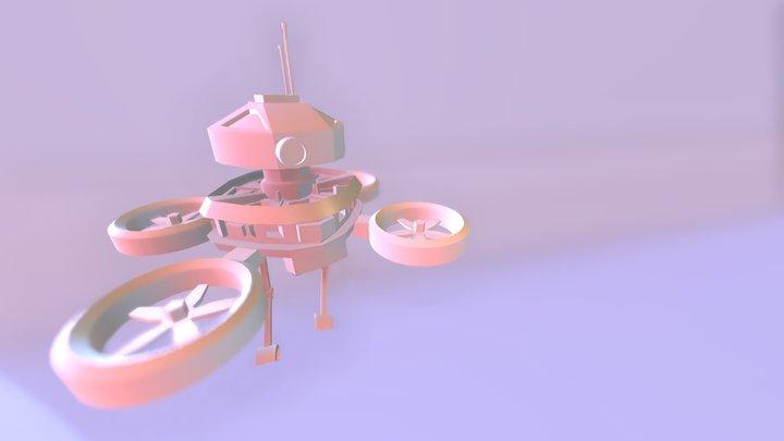 Dron V.I.C.T.O.R.I.A 3D Model