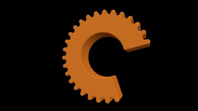 Catapult Logo 3D Model