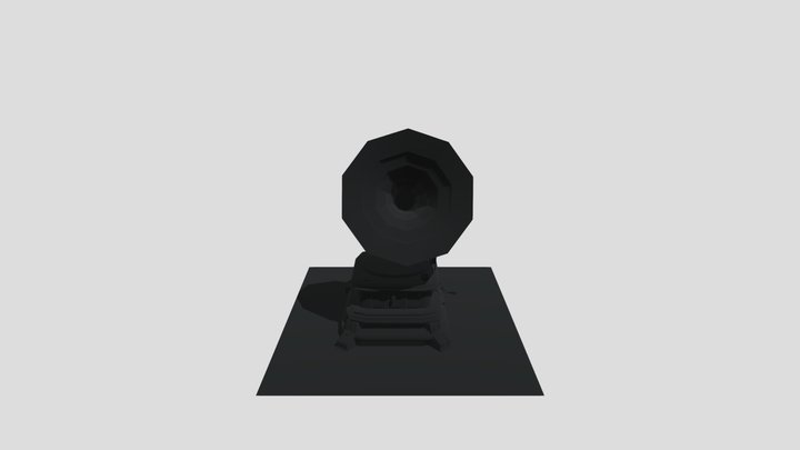 Gramophone mammut 1904-1911 3D Model