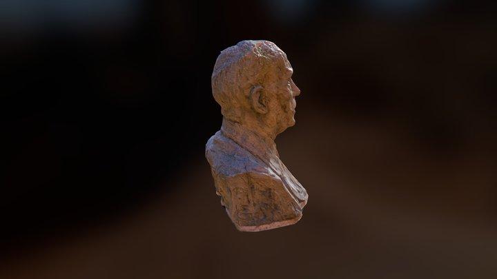 Louis Lecoin 3D Model