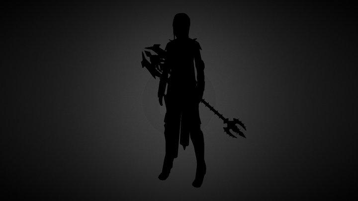 Fantasy Character 3D Model