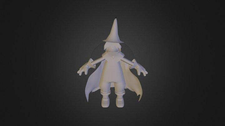 WIZARDMON Trabalho Módulo Modelagem 3D 3D Model