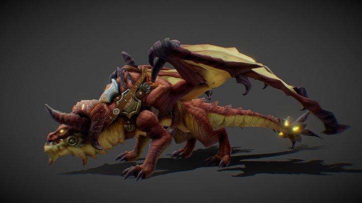 Mount Dragon [M] 3D Model